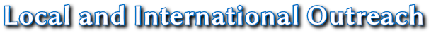 Local and International Outreach